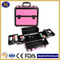 Vanity Makeup Train Case for Sale with handle