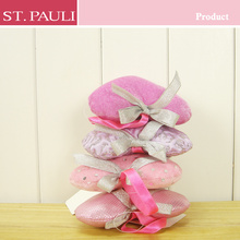 elegant style pink color heart shape ornaments sweet valentines day gifts for wedding decoration