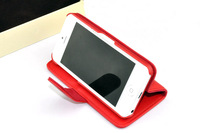 Fashion PU Leather Stand Case Cover Wallet Folio for iPhone 5C