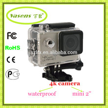 2016 new products China alibaba action cam factory 173 degrees 4K 25fps ultra hd 1080P 60fps 4K
