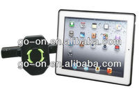 Newly Car stands with double USB charging port for ipad,tablet pc