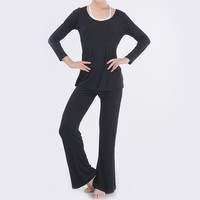 New Arrival Plus Size Women Pants Bunched Stitching Fitness Aerobics Yoga Sportswear