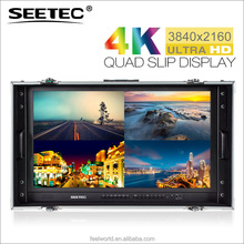 Seetec 28inch sharp 4k monitor with 6G 12G SDI Aluminium case