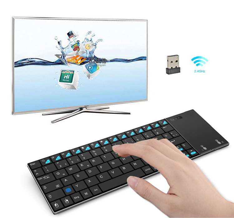 2019 Factory price MINIX K2 BT Wireless Keyboard ir remote control China Air Mouse for TV Box PCs OS