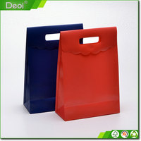 Customized decorative PP PE PVC plastic shopping bag