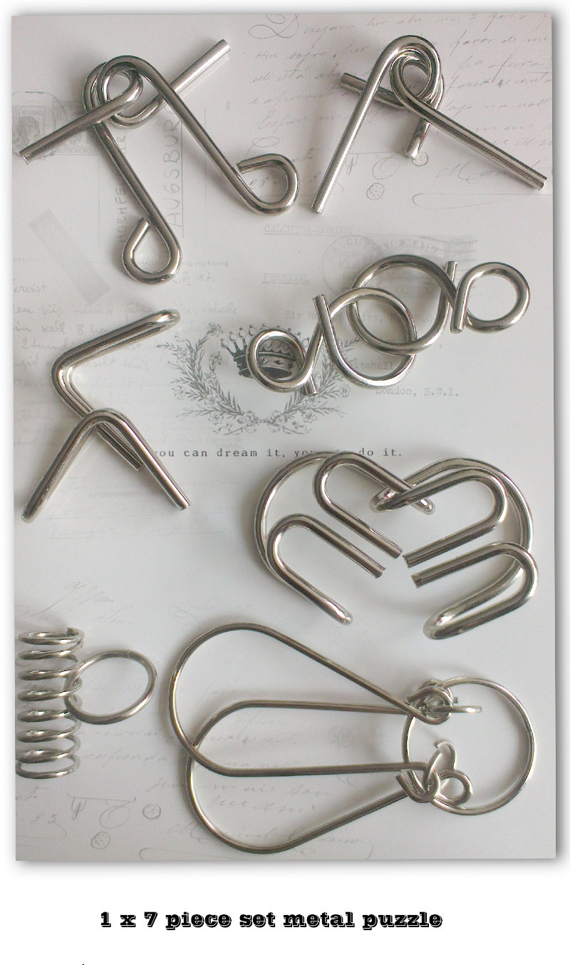 Metal Puzzle Kaisiqi,Metal Puzzle Solutions,3d Puzzle Metal - Buy ...