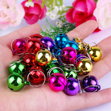 Wholesale Mixed Color 1.5cm 2.0cm 2.5cm Decoration Metal Jingle Ring Bells