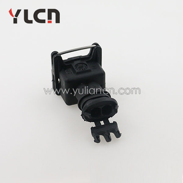 2pin auto plastic electrical wire connectors