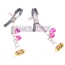 Manufacturer supply adult SM torture tool couple bondage fun sex toys adjustable nipple clamp