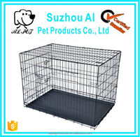 2 Doors Pet Folding Suitcase Pet The Dog Kennel