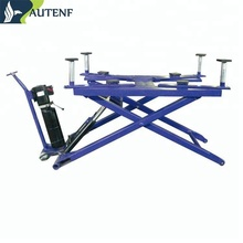 Autenf used auto full rise automotive scissor lift