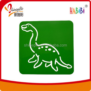animal Fashion stencil for kids
