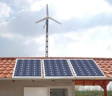 Off-grid Solar and Wind power 1000W