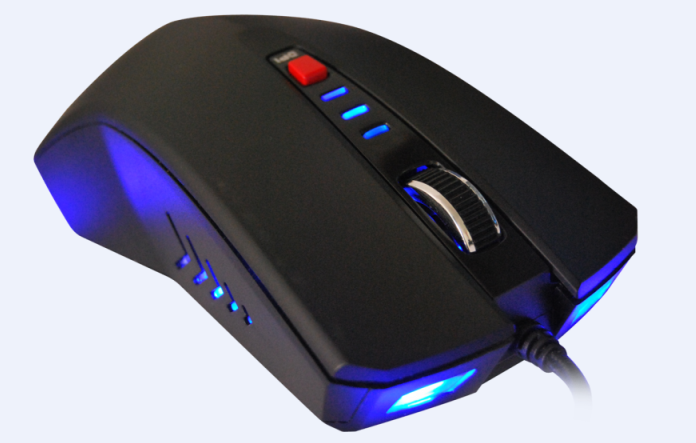 best selling products 6d LED backlight optical ergonomic wired gaming mouse