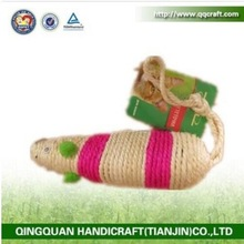 2017 wholesale cheap price PET TOYS Catnip Mouse / Cat Toy with Catnip