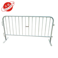 Galvanized driveway security pedestrian steel barriers