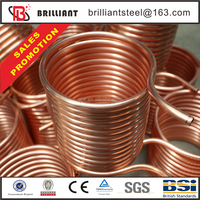 copper pipe price per meter&copper tube for air conditioner price