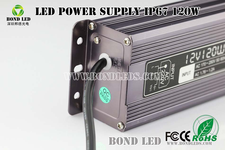high power 120w LED driver led power supply with CE RoHS approved