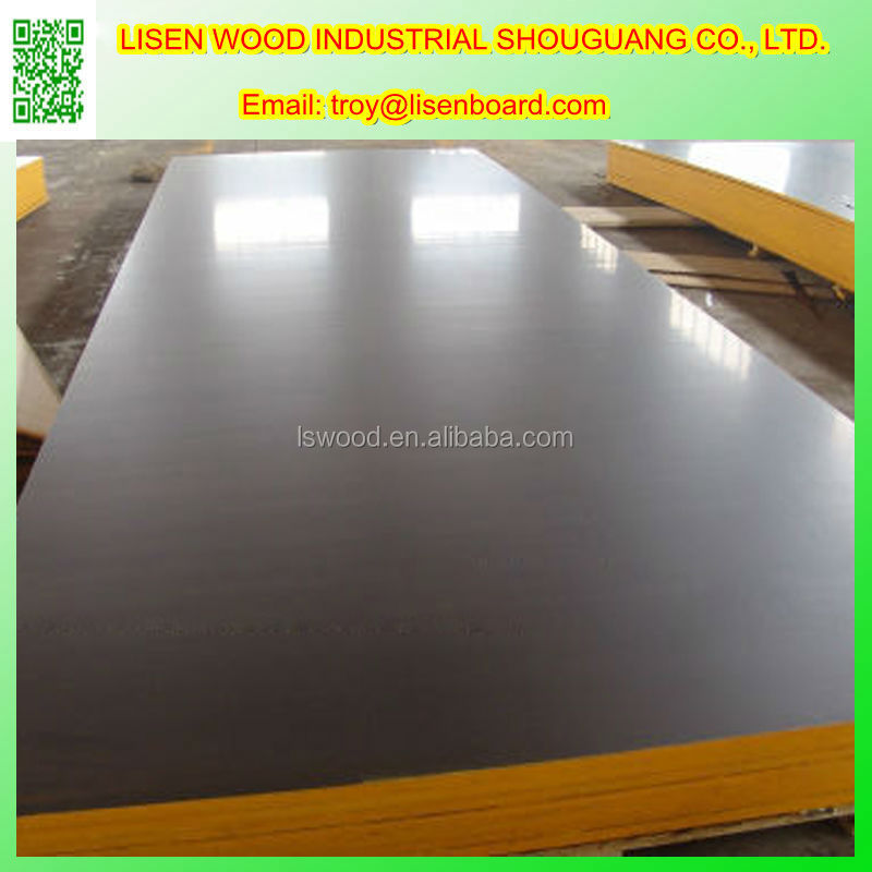 12mm film faced plywood for automotive production