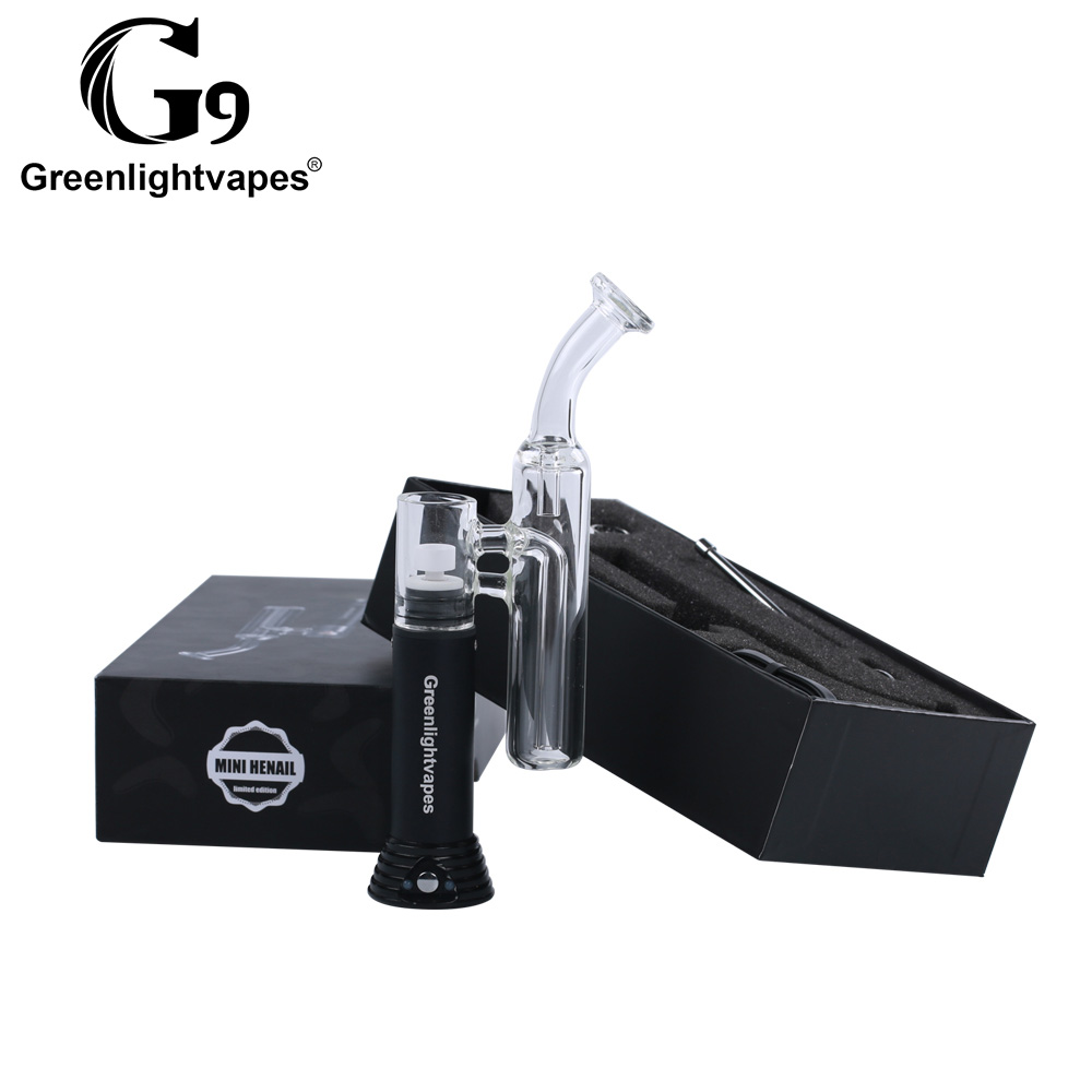 G9 dab rig portable e-nail mini henail wax dab e nail for smoker h enail