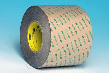 3M Adhesive Transfer Tape 9471LE a 2.0 mil 300LSE low surface energy acrylic adhesive on a 4.2 mil polycoated kraft paper