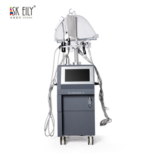 SK EILY skin oxygen injection beauty machine facial tightening machine with korea machine oxygen mask