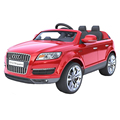 1452001-For Audi Q7 four wheels children's electric car charging drive with remote control toy car baby babies who can sit cross