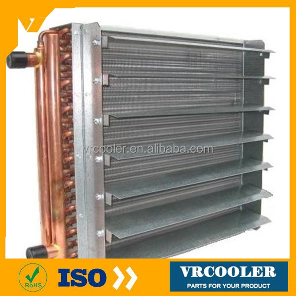 type of condenser copper pipe radiator