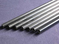 Best quality 3k surface smooth carbon fiber tube high flexible