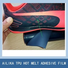 TPU film will fuse on shoe upper to instead of the leather shoe accessories