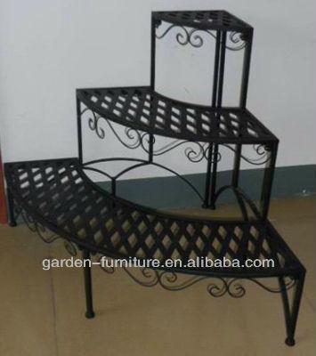 Wholesale Garden Supplies Patio Decor Corner Display Shelf
