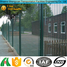 SGS certified factory PVC coated no climb fence panels