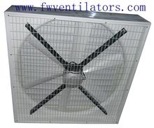 40 inch green house cross flow small solar powered fan