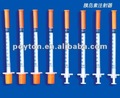 Insulin Syringe production manufacturing lines with CE