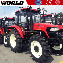Chinese Agricultural Equipment 110HP Wheeled Farm Tractor WD1100
