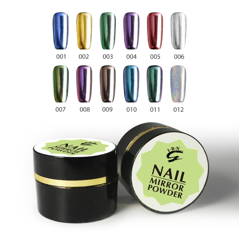 nail art chrome pigment powder for mirror effect nail