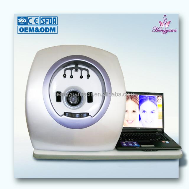 Hot sale magic mirro face skin analyzer accurate facial scanner beauty machine