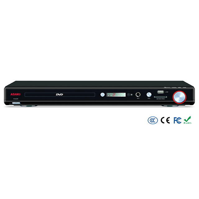 Home use AC 5.1ch 2ch USB SD KARAOKE recorder DIVX MP3 CD-G AC-3 DVD player