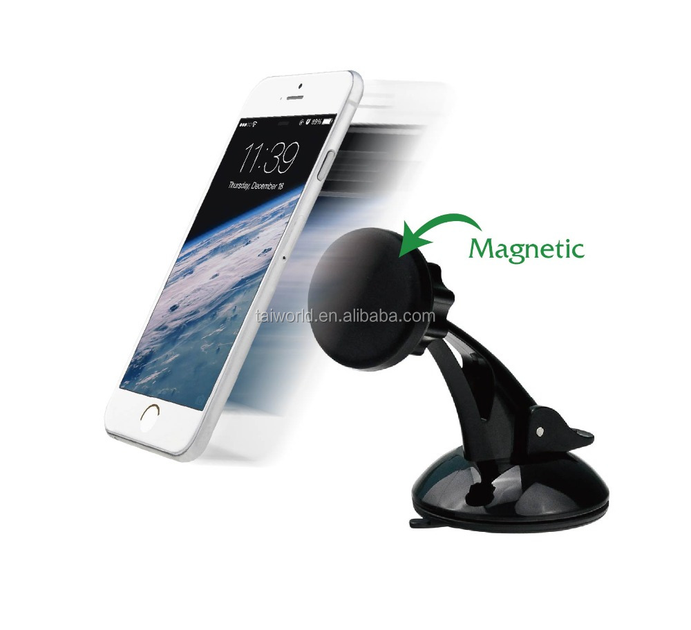 Newest Design PC Material Windscreen Dashboard Magnetic Car Phone Holder