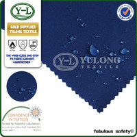 ISO9001 certificate 100% cotton oil and gas industry safety clothing fireproof waterproof garment fabric
