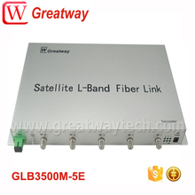 5ch L-Band satellite optical transmitter with CWDM