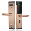 Security Fingerprint Scanner Door Lock With Fingerprint Verification & Password&RFID Card Unlocking Way