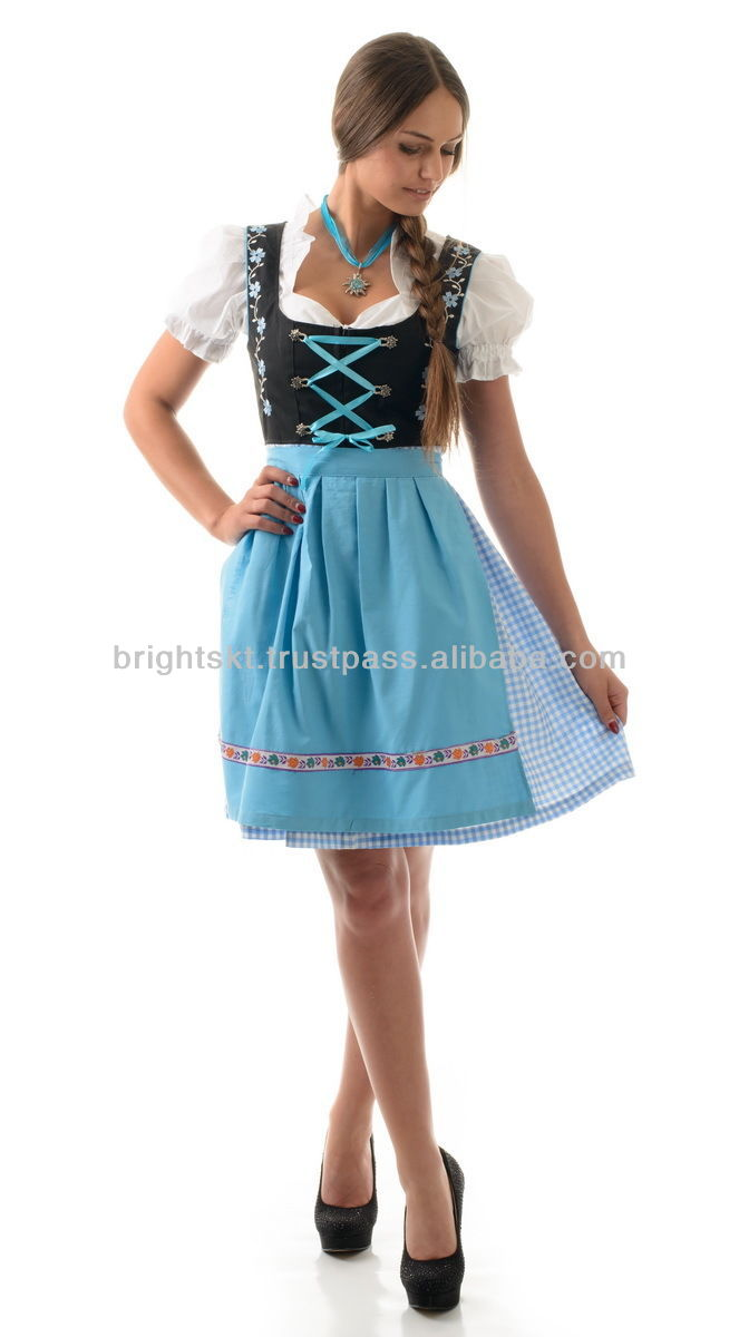 Women Whosale Trachten Mini Dirndl German Wears