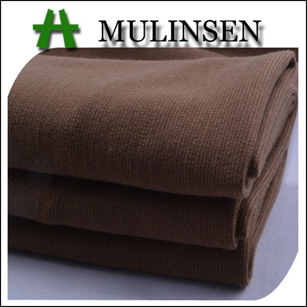 Mulinsen textile poly viscose spandex tr knitting fabric