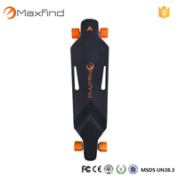 Worldwide Distributors Wanted Maxfind dual motors 2200w mini electric powered skateboard with remote control