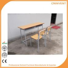 Professional Factory Supply trendy style school desk and chairs sets fast shipping