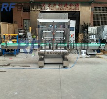 New design Automatic toilet cleaner filling machine for bottle