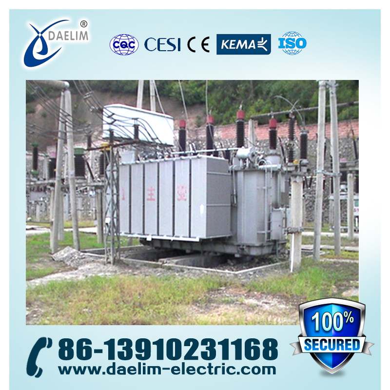 66kV 8000kva S(F)Z9 Series Three-pahse OLTC Oil-immersed Power Transformer