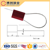 Customized Wire Lead cable securoty Seal For Multi Purpose cable tie seal