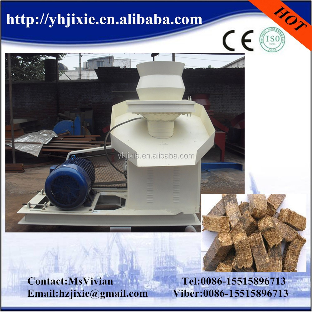 China best supplier high cacapity homemade biomass fuel briquette machine factory price on sale
